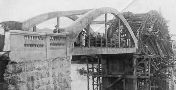 A História da Ponte dos Arcos (Ponte Emílio Baumgart)