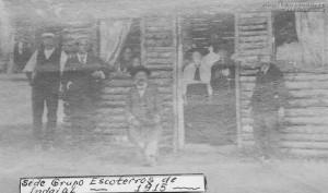 1917 – Primeira Sede de Escoteiros
