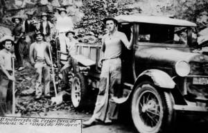 1941 – Primeiro motorista da Prefeitura