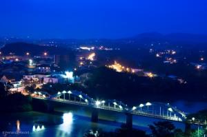Vista panorâmica da Ponte dos Emílio Baumgart