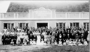 1941 – Antigo salão da Sociedade Recreativa Indaial