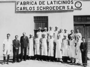 1955 – Fábrica de Lacticínios Carlos Schroeder