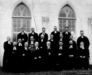 1929 – Primeiro Concílio Sinodal – Encontro de Pastores