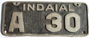 1950 – Placa