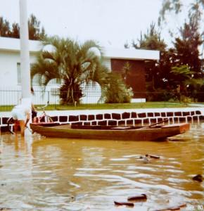 1983 - Frente ao atual Cartório Moser