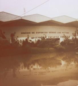 1983 - Ginásio de Esportes Sérgio L Petters