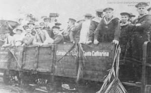 1914 - Visita de Marinheiros do Cruzador S.M.S. Kaiser