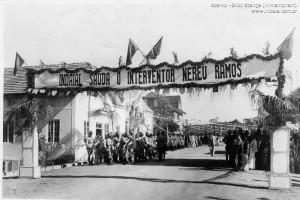 1946 - Visita do Interventor Nereu Ramos