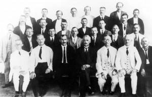 1923 - Colaboradores da Escola Evangélica Luterana