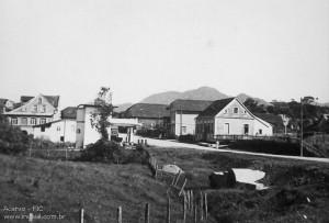 1945 - Centro da cidade