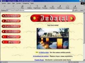 1999 - Primeiro Site de Indaial
