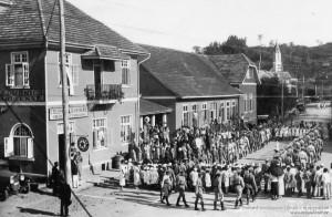 1934 - Desfile do Tiro de Guerra