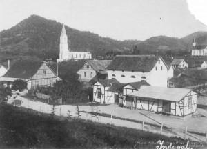 1926 – Antiga estação de trem