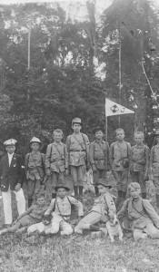 1917 – Primeiros Escoteiros