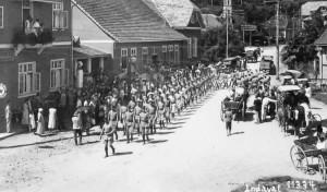 1934 – Desfile do Tiro de Guerra